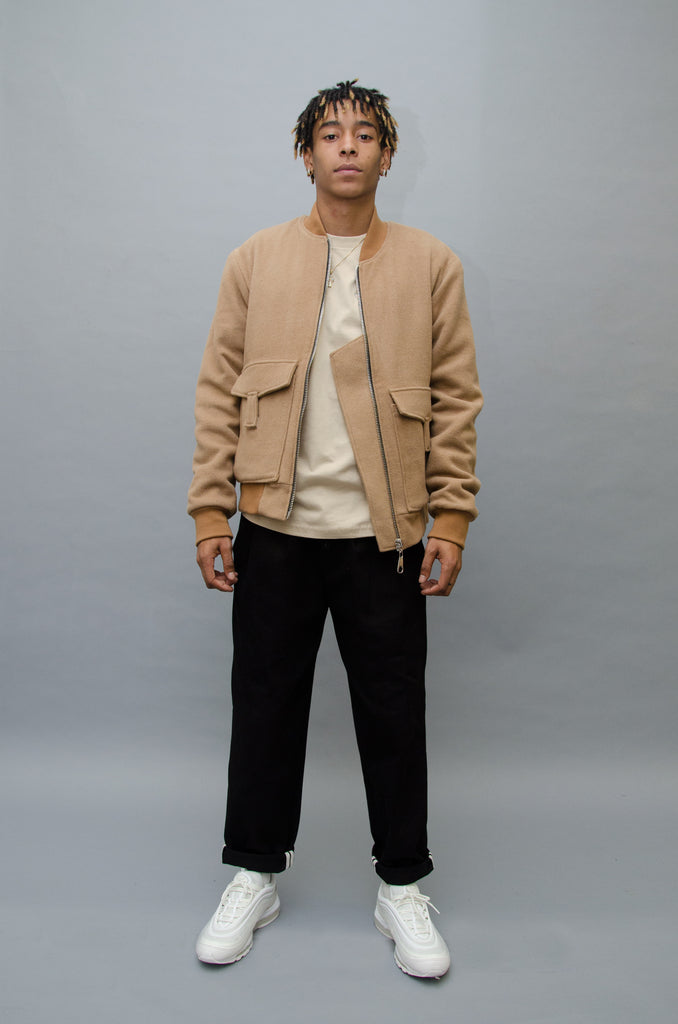 The North Hill Gavroche Teddy is a made in France jacket