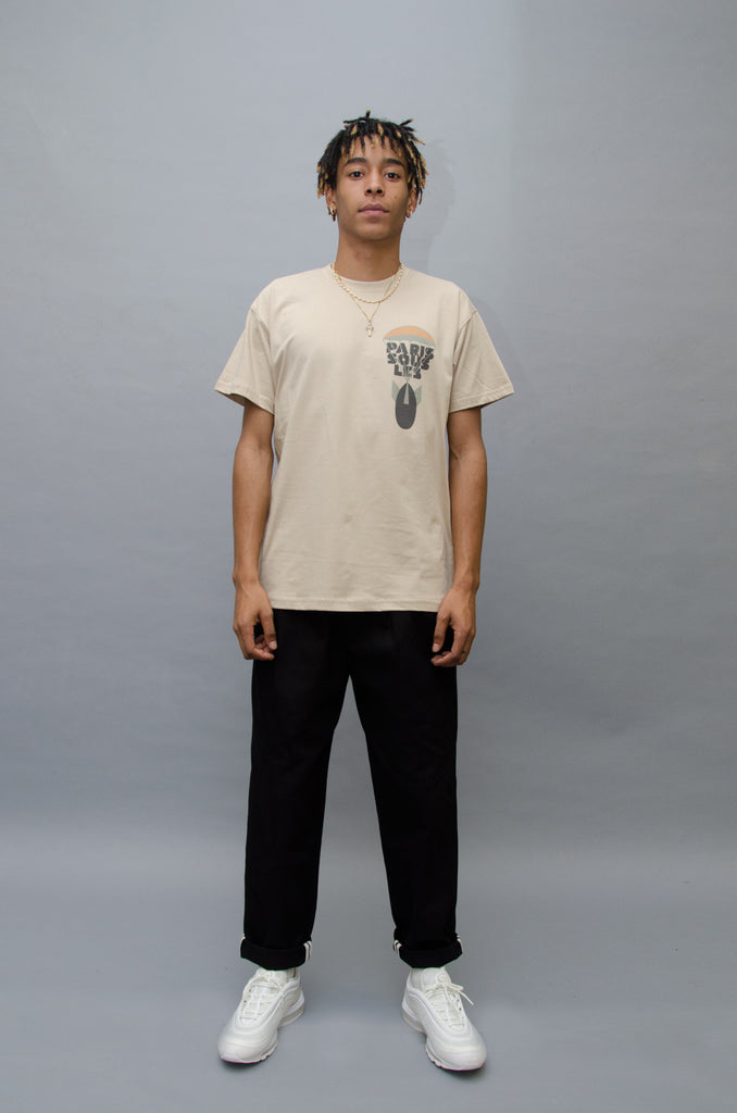 The North Hill Bomb Tee is a made in France t-shirt.