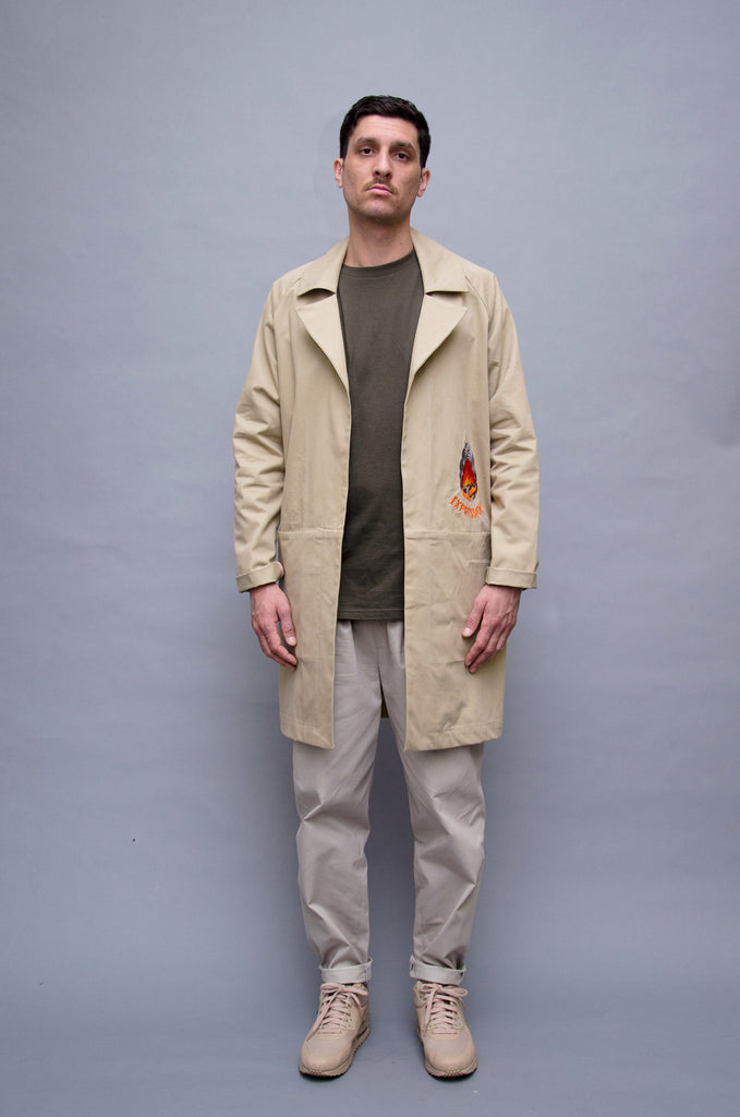 The North Hill Twill Burnacar Jacket is a made in France jacket
