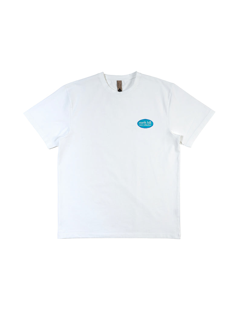 White Patch Tee