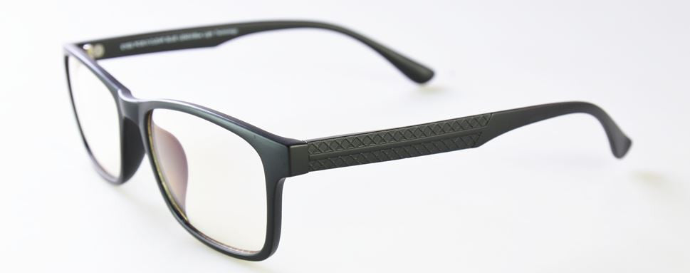 Style 713 Matte Black Gamer Glasses