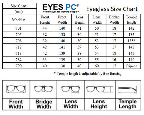 Blue Light Blocking Glasses With Clear Blue Lens And Tr90 Frame