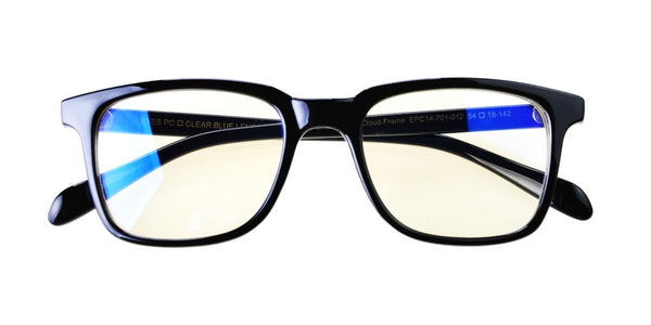 Blue Light Blocking Glasses, Help Prevent Macular Degeneration, Black Style 701, From EYES PC