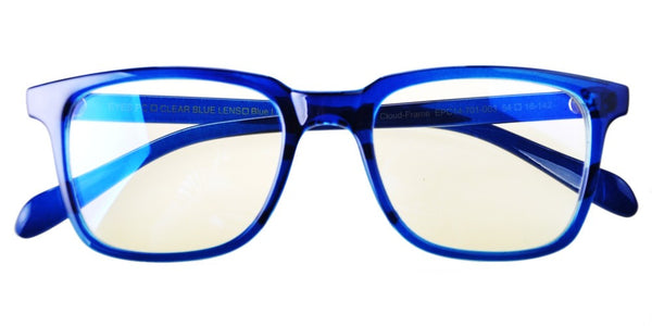 Blue Light Blocking Glasses, Help Prevent Macular Degeneration, Blue Sapphire Style 701, From EYES PC
