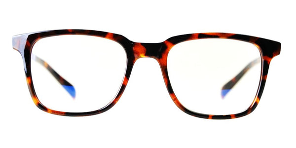 Blue Light Blocking Glasses, Improve Circadian Rhythm, Brown Tortoise Style 701, From EYES PC
