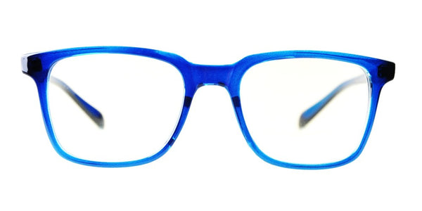 Blue Light Blocking Glasses, Improve Circadian Rhythm, Blue Sapphire Style 701, From EYES PC