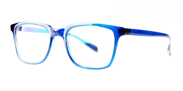 Blue Light Blocking Glasses, Reduce Eye Strain, Blue Sapphire Style 701, from EYES PC