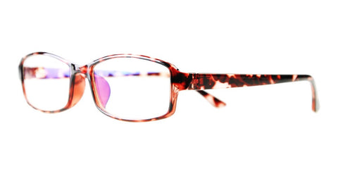 Blue Light Blocking Glasses, Reduce Eye Strain, Brown Tortoise Style 705, from EYES PC
