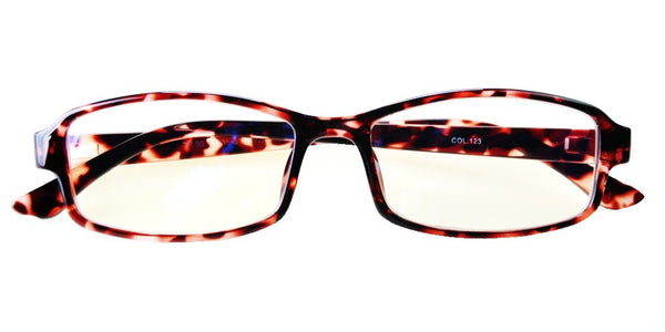 Blue Light Blocking Glasses, Help Prevent Macular Degeneration, Brown Tortoise Style 705, From EYES PC