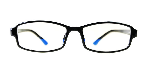 Blue Light Blocking Glasses, Improve Circadian Rhythm, Black Style 705, From EYES PC