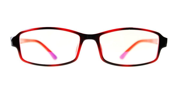 Blue Light Blocking Glasses, Improve Circadian Rhythm, Red Stripe Style 705, From EYES PC