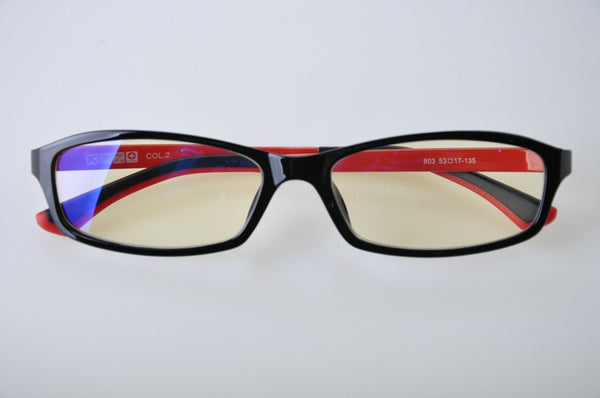 710 Black / Red - Blue Light Protector Eyewear
