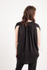 Maternity Breastfeeding Nursing Top in Essential Black