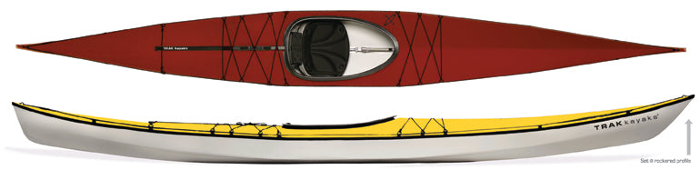Trak Kayaks, T-1600 Folding Kayak