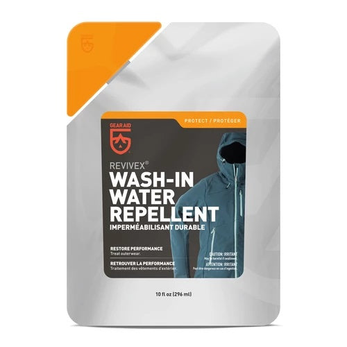 GEAR AID REVIVEX Wash-In Water Repellent, 10 oz. pouch