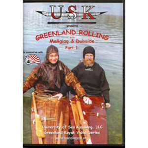 USK Greenland Rolling with Maligiaq & Dubside DVD, Part (1 or 2)