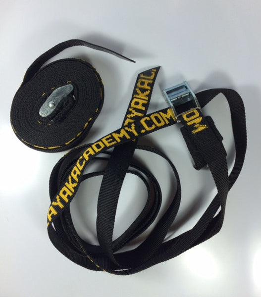 KA Tie Down Strap, heavy duty cam strap with webbing buckle pad and flattened end
