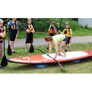 SUP Paddling improves balance