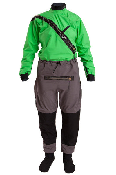 Kokatat Women's KA Silver Label Gore-tex Front Entry Dry Suit w/ Front Relief Zipper for FUD, Dry Socks, KA GFE-WR