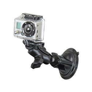 RAM GoPro Short Arm Suction Base Mount