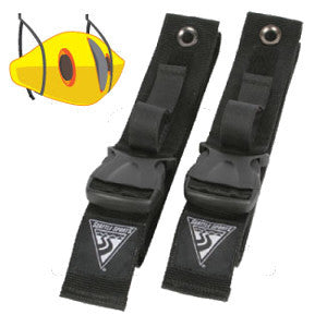 "Boat Keeperz - Wall Mount Webbing ""Kayak Rack"""