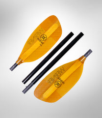 Werner Sherpa - River Kayak Paddle w/ Medium Sized Conventional Blades