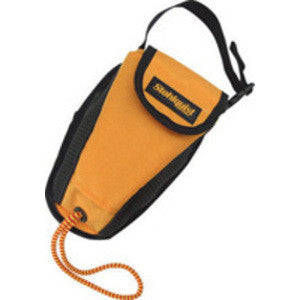 Stohlquist WW Bullet Throw Bag / Sea Kayak Tow Rope, Mango, 50'