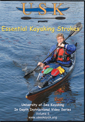 USK Essential Kayaking Strokes Vol 6 DVD