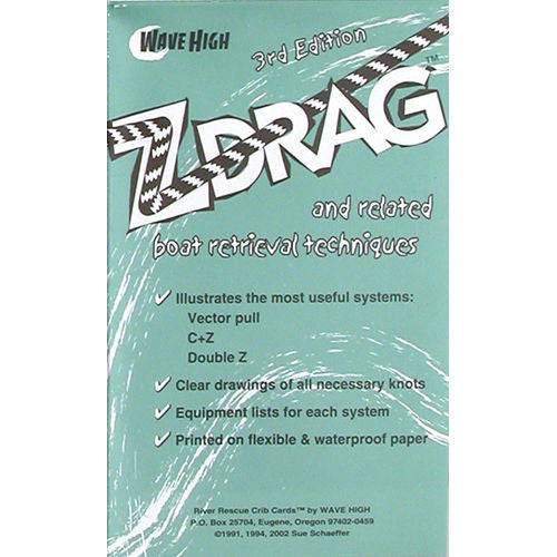 Z-Drag River Rescue Crib Sheet