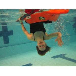 Pool Practice For Kayakers, hang out in upside down in a warm pool