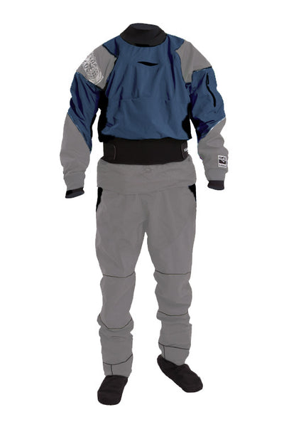 Kokatat Idol 2-Piece Gore-Tex Drysuit -- Close-Out Sale on Denim Color Med. only