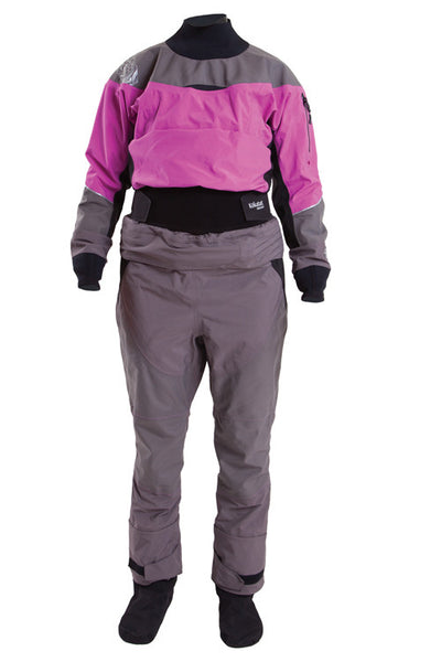 Kokatat Women's Gore-Tex Idol 2-pc Drysuit -- Sale on 2015 Violet/Gray