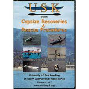 USK Capsize Recovery & Rescue Procedures Vol 1 & 2 DVD