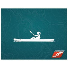 Kayak Sport Stickers