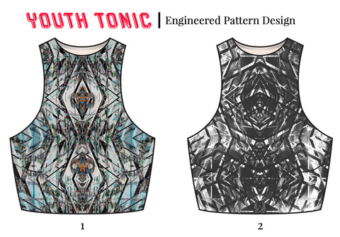 Textile Designs | Womens Activewear-Youth Tonic Trend