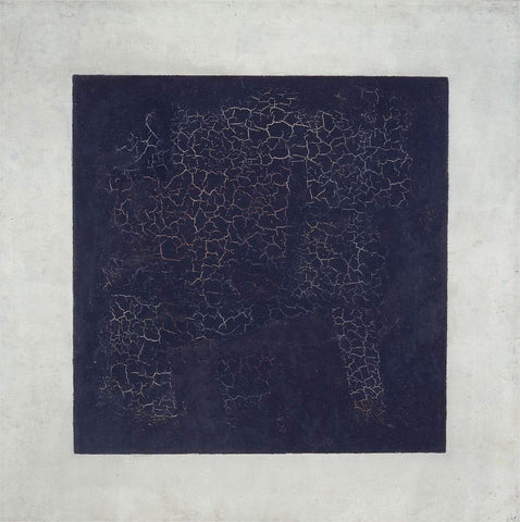 Black Square by Kazimir Malevich 1915