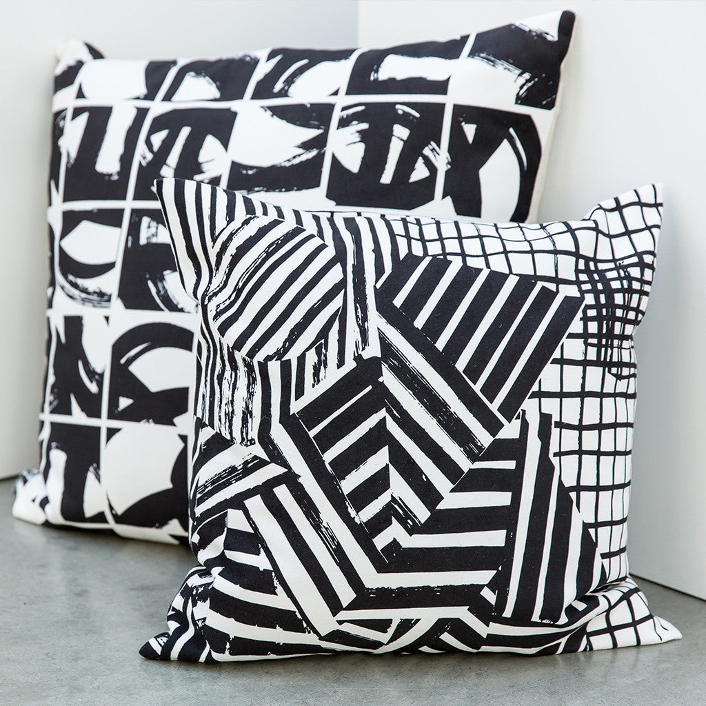 SUMI | The LEXICON collection of pillows from ANTIPOD Workshop