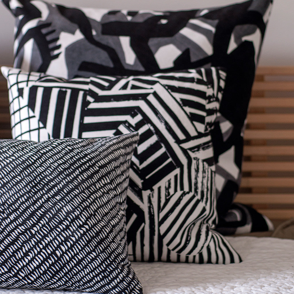 LEXICON collection of pillow by ANTIPOD Workshop