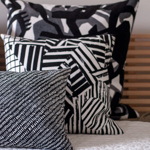 "EDEN | 20"" sq pillow from the Lexicon Collection by Antipod Workshop"
