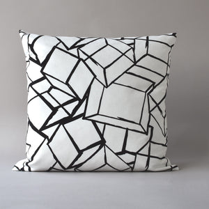 TUMBLING BLOCKS | 20 inch sq pillow from the LEXICON collection by ANTIPOD