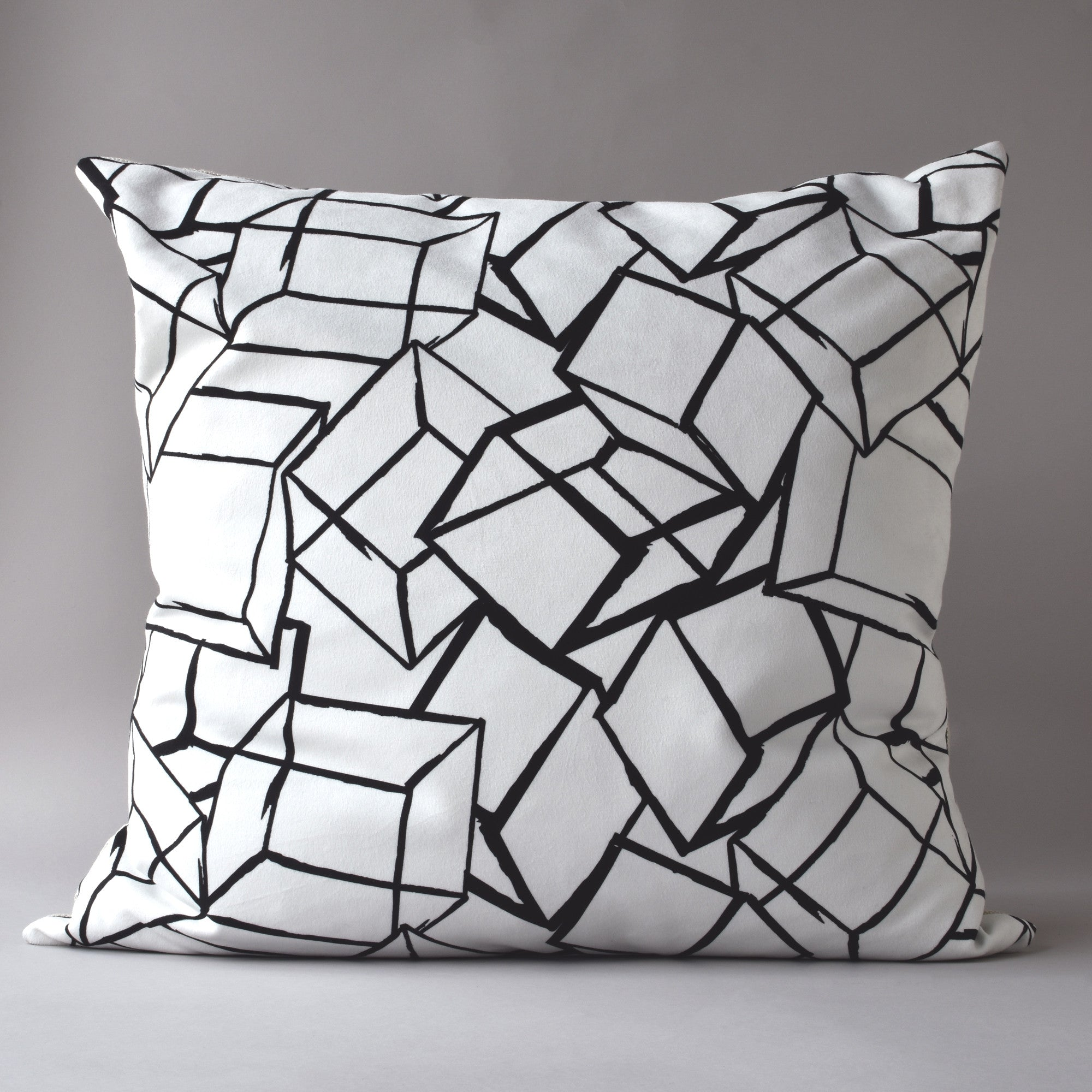 TUMBLING BLOCKS | 26 in sq pillow from the LEXICON collection by ANTIPOD
