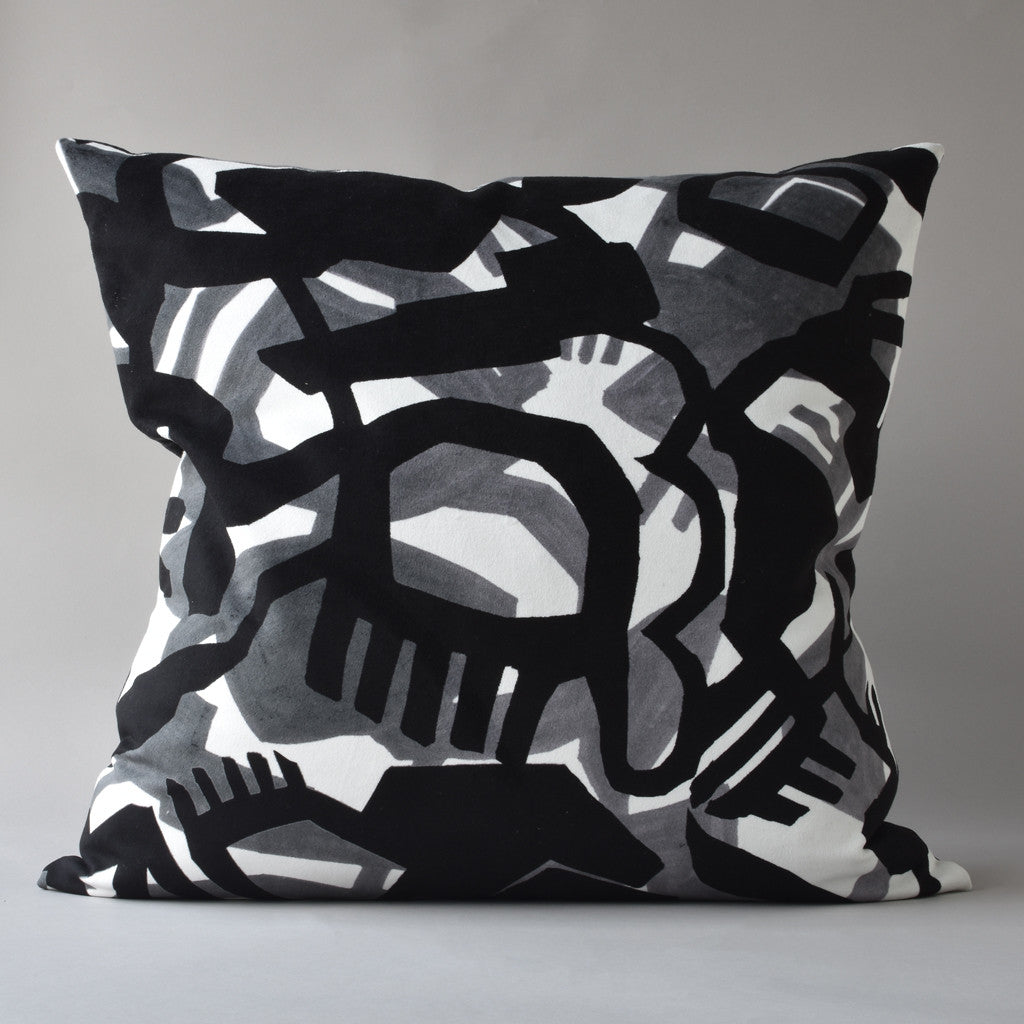 "EDEN | 26"" sq pillow from the Lexicon Collection by Antipod Workshop"