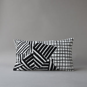 "FULL MOON | 20"" square pillow cover from the Lexicon Collection by Antipod Workshop"