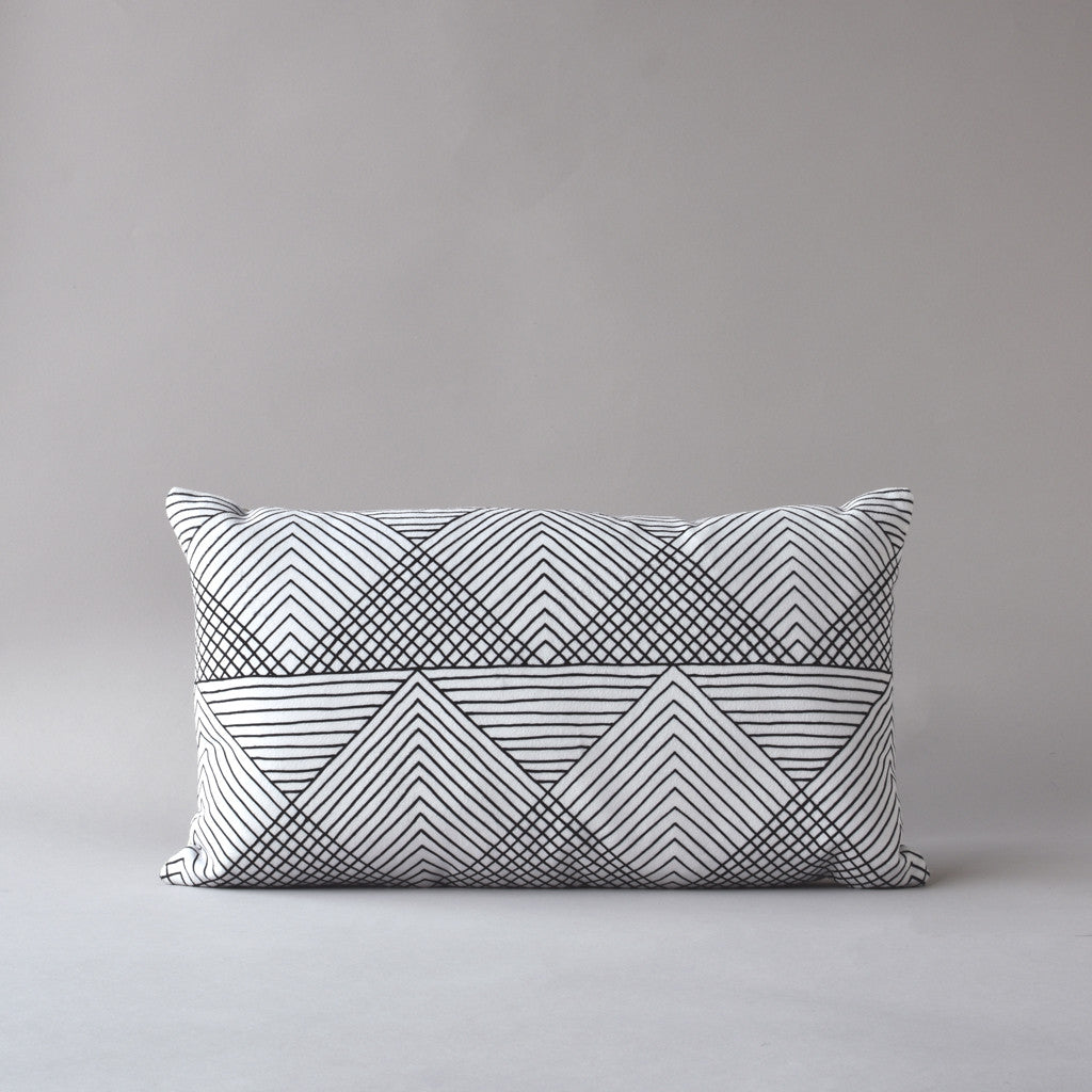SOL | 12 x 20 in pillow from the LEXICON collection by ANTIPOD