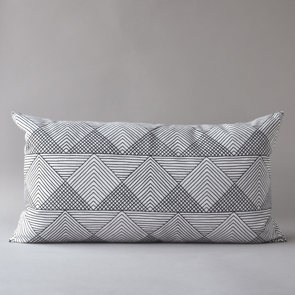 SOL | 14 x 25 in pillow from the LEXICON collection by ANTIPOD