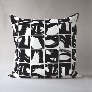 SUMI | 20 inch sq pillow from the LEXICON collection by ANTIPOD