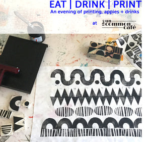 Print Workshop at Uncommon Cafe