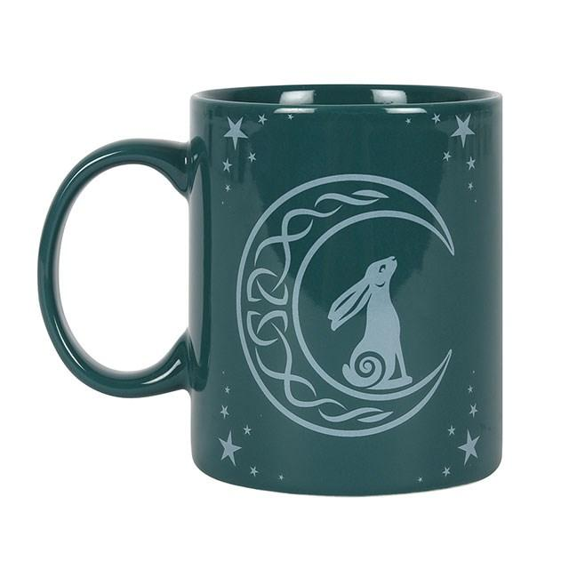 Moon Gazing Hare Mug Mugs Secret Halo