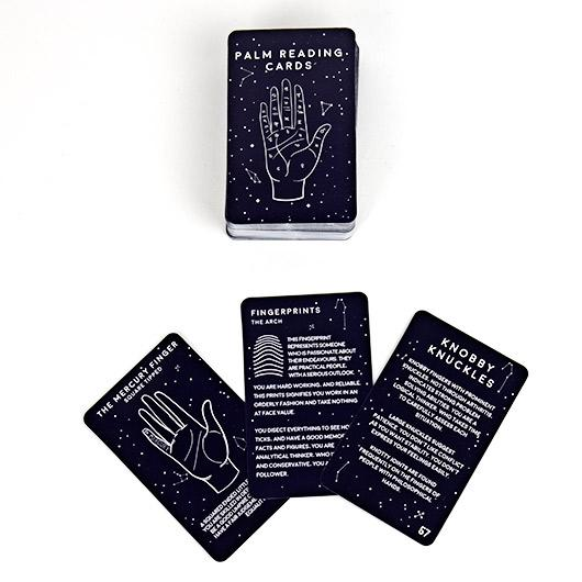 Palm Reading Cards Gifts Secret Halo