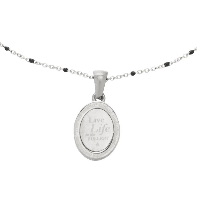 Quote Necklace - Live Life to the Fullest Necklaces & Pendants Secret Halo